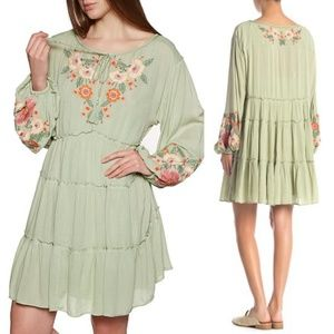 NWT Free People Spell On You Mini Dress